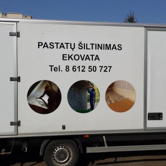Reklama ant automobilio, lipdukų gamyba, lauko/vidaus reklam / Trigalvis.lt / Darbų pavyzdys ID 451447