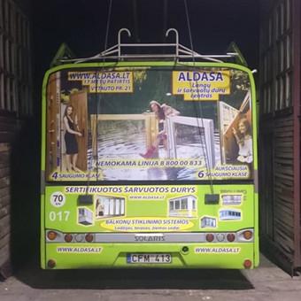 Reklama ant automobilio, lipdukų gamyba, lauko/vidaus reklam / Trigalvis.lt / Darbų pavyzdys ID 451797