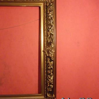 Mano rankų darbo rėmas veidrodžiui arba paveiksliui.