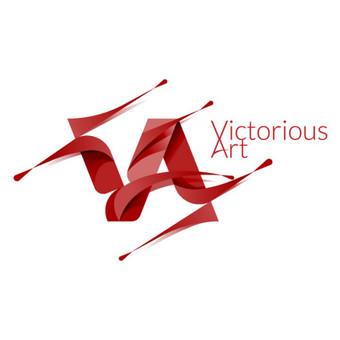 Victorious Art -  PARDUODAMAS, galiu pritaikyti jūsų poreikiams ir pavadinimui. | www.glogo.eu - logo creation.