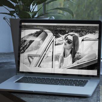 Fotografijos darbų svetainė.