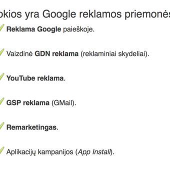 Google reklama / Google Reklama / Darbų pavyzdys ID 454909