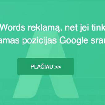 Google reklama / Google Reklama / Darbų pavyzdys ID 454921