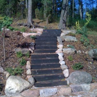 Laiptai slaite