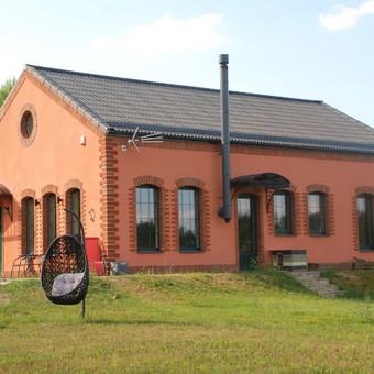Namas Trakų rajone. Architektas - Dainius Sadauskas, konstruktorius - Adrijus Ramonis