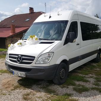 Mikroautobusų nuoma su vairuotoju / Romas Sabutis / Darbų pavyzdys ID 455145