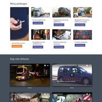 Interneto svetainės, verslo valdymo sistemos, dizainas / Gintautas Bakūnas / Darbų pavyzdys ID 456013