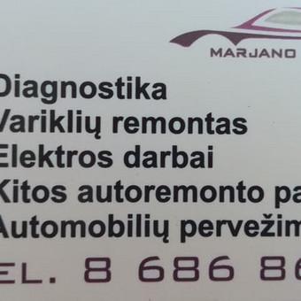 Marjano Servisas / Marjano servisas / Darbų pavyzdys ID 459847