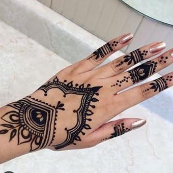 Piešiu laikinas henna chna tatuiruotes Vilniuje / Sigita Žvirgždaitė / Darbų pavyzdys ID 461895
