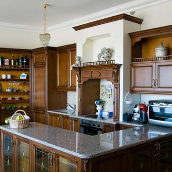 Privataus namo virtuves  ir baldu projektai Kaunas