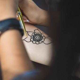 Piešiu laikinas henna chna tatuiruotes Vilniuje / Sigita Žvirgždaitė / Darbų pavyzdys ID 467623