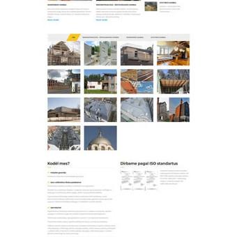 www.dorineda.lt Sukurta svetainė padarytos nuotraukos, ir nufilmuotas klipas. Taip pat pradėtas daryti SEO optimizavimas