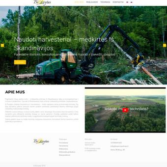 Projektas forest-machines.lt