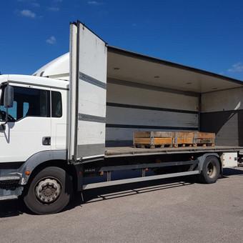 Kroviniu gabenimas,kroviniu pervezimas / Egidijus / Darbų pavyzdys ID 470445