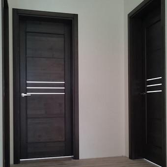 Vidaus durys iš medžio masyvo / Aidas Mazūra / Darbų pavyzdys ID 471653