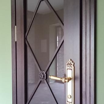 Vidaus durys iš medžio masyvo / Aidas Mazūra / Darbų pavyzdys ID 471657