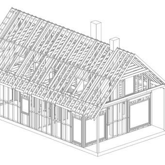 Architektas - konstruktorius Vilniuje / Juras Kuzmickis / Darbų pavyzdys ID 472597