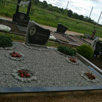 Praktiskas kapo dekoravimas be zemiu,su gelemis,krumeliais