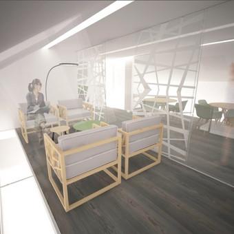 Socialinės edukacijos centro projekto vizualizacija