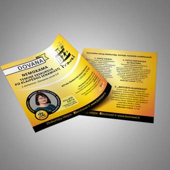 Grafikos dizainerė / Reklamos gamyba / Vita Kitova / Darbų pavyzdys ID 475401