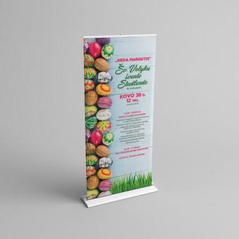 Grafikos dizainerė / Reklamos gamyba / Vita Kitova / Darbų pavyzdys ID 475407