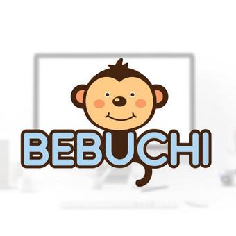 Logo design for e-shop kids store.