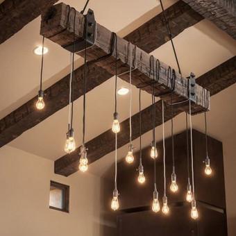 Toks pakabinamas dekoratyvinis šviestuvas puikiausiai tiks ne tik namų papuošimui, bet ir kaimo turizmo sodybom, ar restoranų įrengimui. Tai neregėtai plati šių šviestuvų pritaikymo galimybė architekt