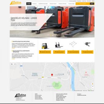 Interneto svetainių kūrimas, verslo valdymo sistemos / Robertas Kaunas / Darbų pavyzdys ID 482347