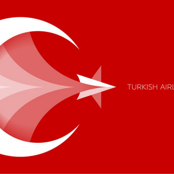 Turkish Airlines -  logo rebranding, just for fun   |   UNUSED / PARDUODAMAS   |   Logotipų kūrimas - www.glogo.eu - logo creation.