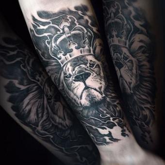Kietos tattoo tik kietiems. / Evaldas(Mantikora) / Darbų pavyzdys ID 483171
