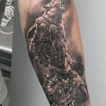 Kietos tattoo tik kietiems. / Evaldas(Mantikora) / Darbų pavyzdys ID 483179
