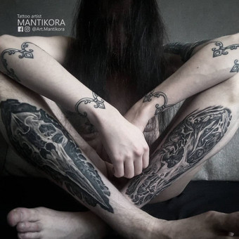 Kietos tattoo tik kietiems. / Evaldas(Mantikora) / Darbų pavyzdys ID 483217