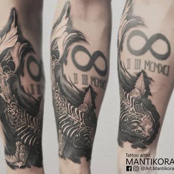 Kietos tattoo tik kietiems. / Evaldas(Mantikora) / Darbų pavyzdys ID 483219