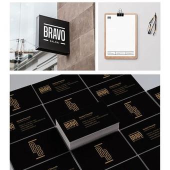Bravo baldai | Firminis stilius / Corporate Identity