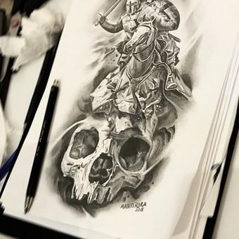 Kietos tattoo tik kietiems. / Evaldas(Mantikora) / Darbų pavyzdys ID 484647