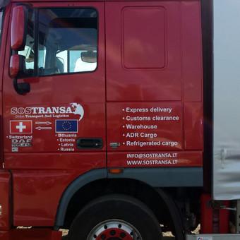 Reklama ant automobilio, lipdukų gamyba, lauko/vidaus reklam / Trigalvis.lt / Darbų pavyzdys ID 490377