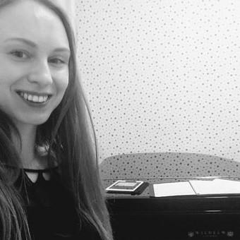 Pianistė Justė Kazakevičiūtė / Justė Kazakevičiūtė / Darbų pavyzdys ID 490389