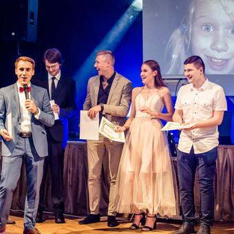 Renginių vedėjas Evaldas Jankantas kartu su DJ komanda / Evaldas Jankantas / Darbų pavyzdys ID 495999