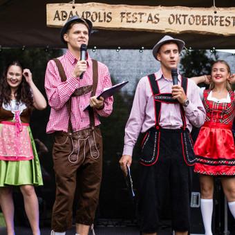 Renginių vedėjas Evaldas Jankantas kartu su DJ komanda / Evaldas Jankantas / Darbų pavyzdys ID 497275
