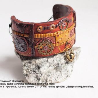 Rankų darbo vienetiniai gaminiai iš polimerinio molio / Saulė Prušinskaitė / Darbų pavyzdys ID 499089
