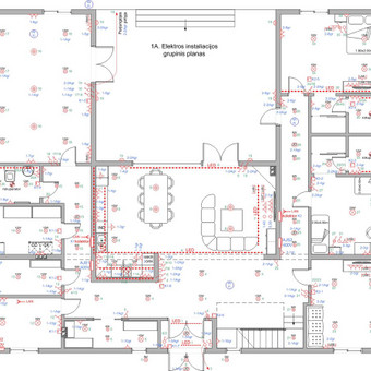 Elektros instal. darbai ir projektavimas / Tomas Kalinauskas / Darbų pavyzdys ID 499195