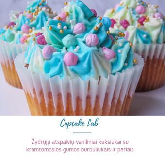 Cupcake Lab - laimės keksiukai / Eglė Jankauskaitė / Darbų pavyzdys ID 499255