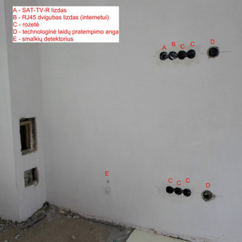 Elektros instal. darbai ir projektavimas / Tomas Kalinauskas / Darbų pavyzdys ID 499389
