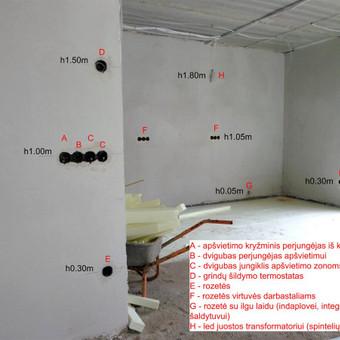 Elektros instal. darbai ir projektavimas / Tomas Kalinauskas / Darbų pavyzdys ID 499391