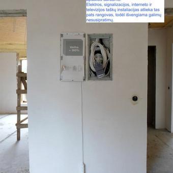 Elektros instal. darbai ir projektavimas / Tomas Kalinauskas / Darbų pavyzdys ID 499397