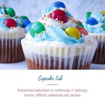 Cupcake Lab - laimės keksiukai / Eglė Jankauskaitė / Darbų pavyzdys ID 499753