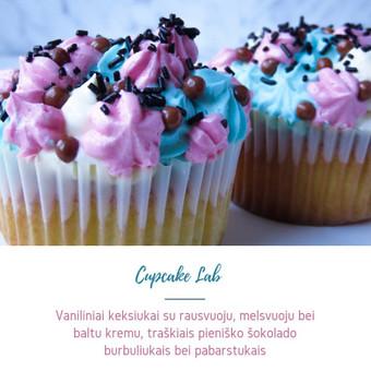 Cupcake Lab - laimės keksiukai / Eglė Jankauskaitė / Darbų pavyzdys ID 499757