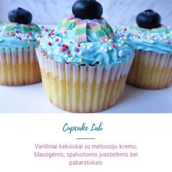 Cupcake Lab - laimės keksiukai / Eglė Jankauskaitė / Darbų pavyzdys ID 499759
