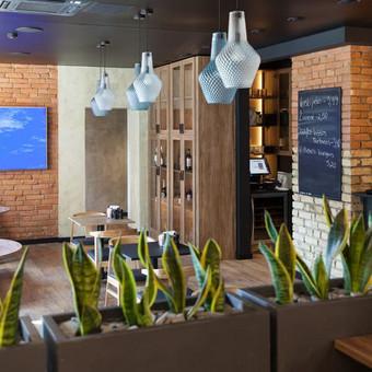 Restorano TRYS interjeras
