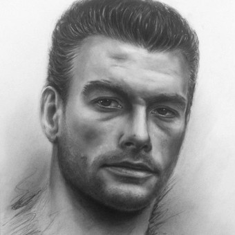 Portretai Paveikslai Šaržai Tatuiruotės / Rytis Songaila / Darbų pavyzdys ID 72286